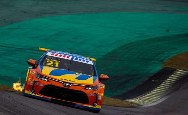 Quinto, Thiago Camilo é o melhor Toyota no grid em Interlagos
