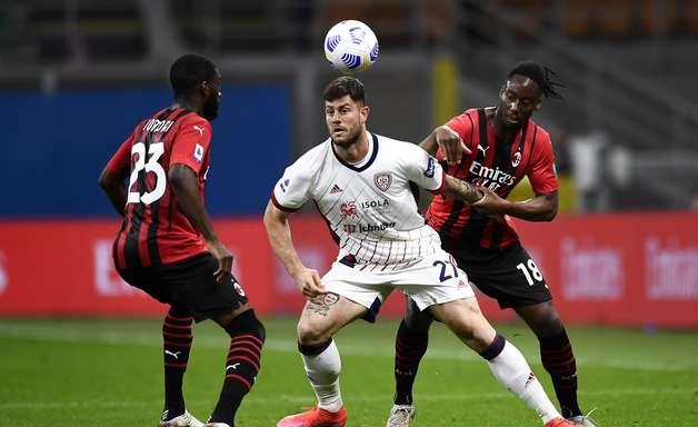 Milan fica no empate com Cagliari