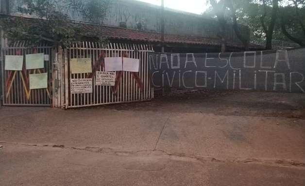 Primeira escola cívico-militar paulista é instalada com polêmica em Sorocaba