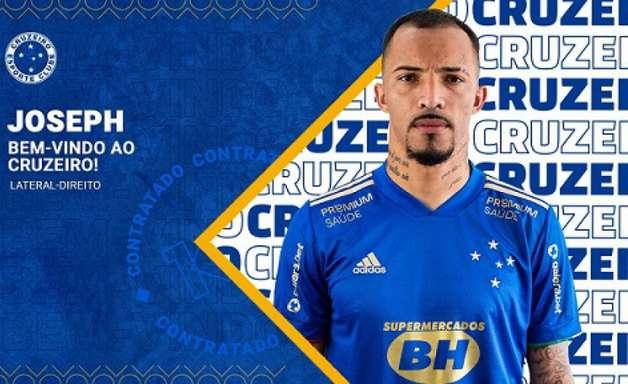 Cruzeiro confirma a contratação do zagueiro Joseph