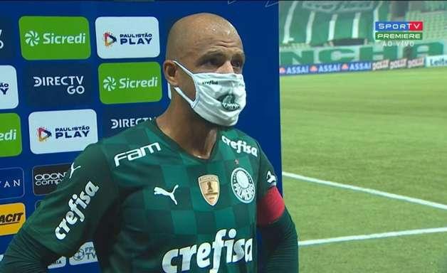 Felipe Melo aprova clássico 'raiz' e exalta Palmeiras