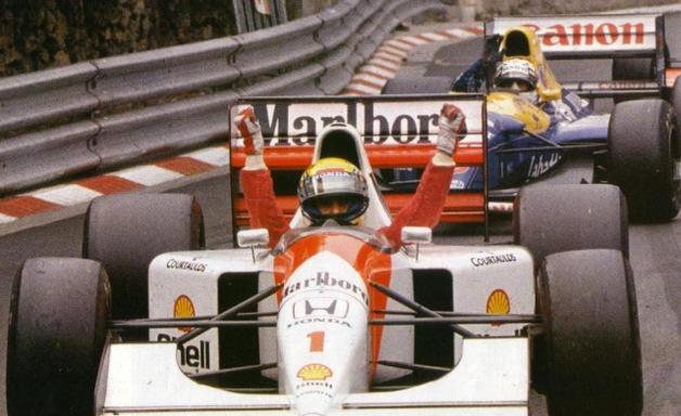 Mônaco, 1992: com carro inferior, Senna superou Mansell
