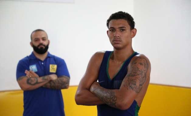 Revelado em escola da prefeitura do Rio, Gabriel Teles é esperança do Brasil na Luta Olímpica