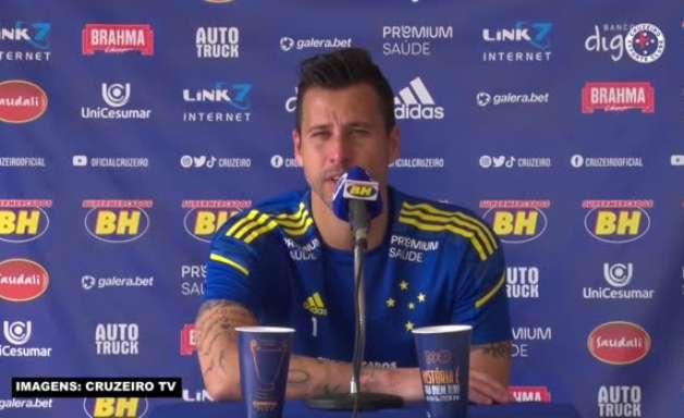 """CRUZEIRO: Fábio diz que equipe 'vem estudando' o Juazeirense e defende: """"Virão motivados para nos enfrentar"""""""