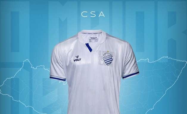 CSA divulga novos uniformes para a disputa da Série B em 2021