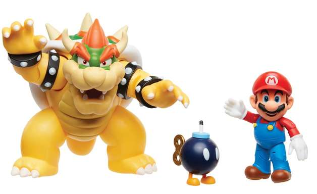 Brinquedos oficiais do Super Mario chegam ao Brasil; veja