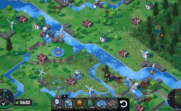 Terra Nil é jogo de estratégia sobre restauração ambiental