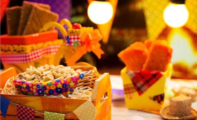 Uma atividade para compensar cada delícia de festa junina