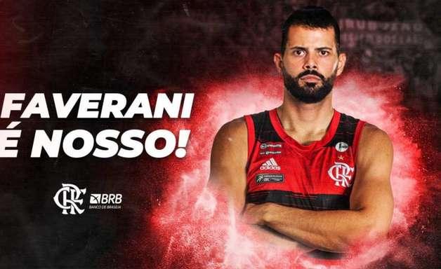 Reforço de peso: Flamengo anuncia contratação de Vitor Faverani, ex-NBA