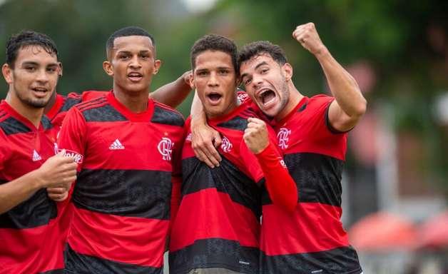 VÍDEO: veja os gols da goleada de 9 a 1 do Flamengo sobre o Macaé no Carioca Sub-20