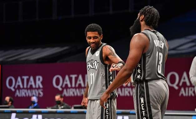 Nets não vai acelerar voltas de Harden e Irving