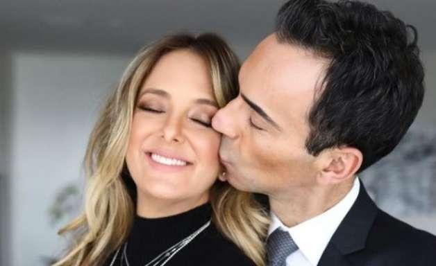 César Tralli se declara em aniversário de Ticiane Pinheiro: 'Meu amor, te amo'