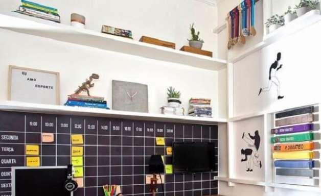 +48 Modelos de Gaveteiro Preto Para Decorar e Organizar o Ambiente