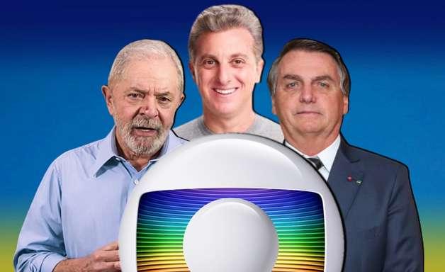 Huck resolve só 50% do problema da Globo na eleição de 2022