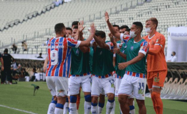 Bahia engata boa sequência como visitante na temporada