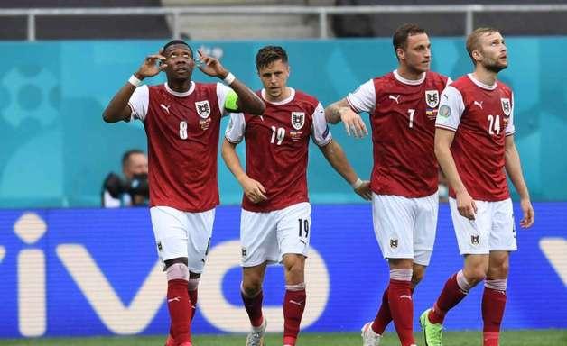 Áustria vence a Ucrânia e garante vaga nas oitavas de final