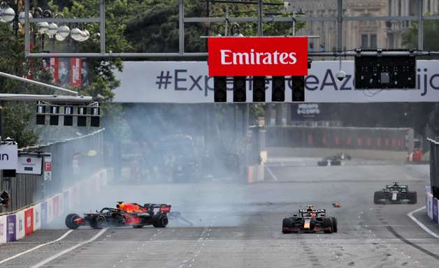 Brundle fala sobre segurança dos pneus na F1, após acidentes em Baku