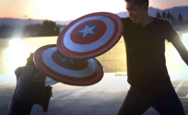YouTuber cria escudo do Capitão América que funciona como nos filmes