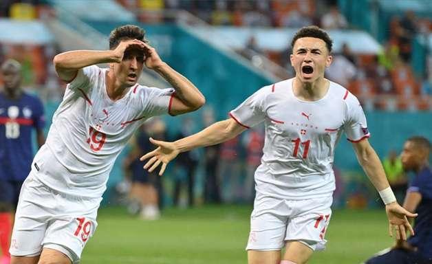 Mbappé perde pênalti, Suíça supera a França e avança na Euro