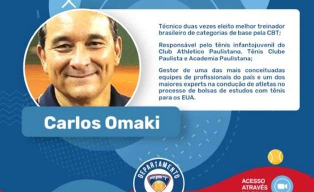 Carlos Omaki dará palestra no Projeto Aprendendo em Rede da Federação Paulista