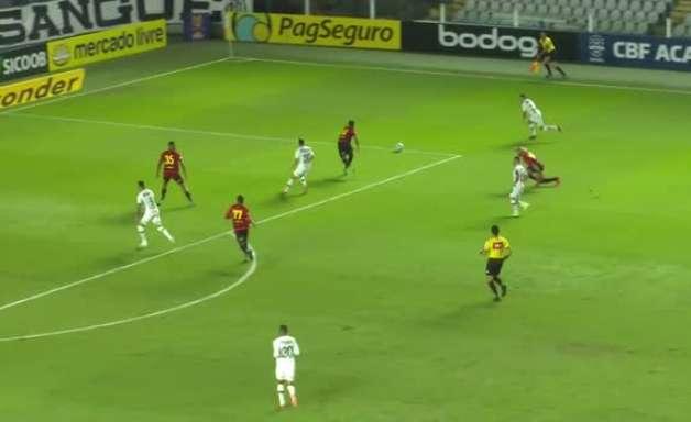 SÉRIE A: Lances de Santos 0 x 0 Sport