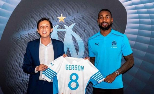 Gerson se apresenta ao Olympique e lembra saída do Flamengo