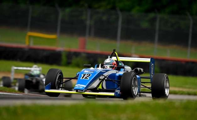 Porto anota pole-position para corrida 1 da USF2000 em Mid-Ohio