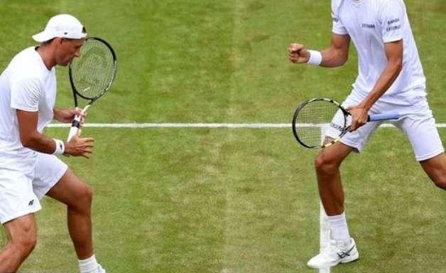 Brasileiros somam 4 vitórias no dia nas duplas de Wimbledon