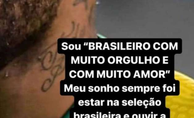 """Neymar manda recado para quem torcer contra a Seleção na final da Copa América: """"Se tem Brasil, eu sou Brasil"""""""