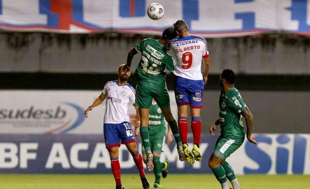 Matheus Bahia desabafa após marcar o gol do triunfo do Esquadrão