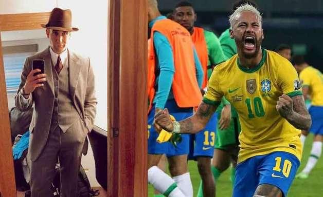 """Ator inglês provoca brasileiros: """"Mais choram do que vencem"""""""
