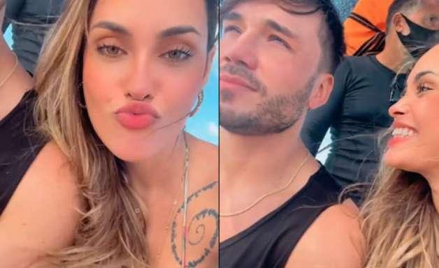 É oficial! Sarah Andrade e Lucas Viana confirmam namoro