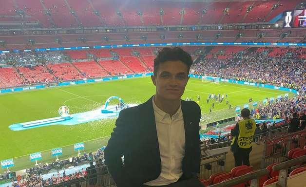 Lando Norris tem relógio furtado em Wembley após decisão