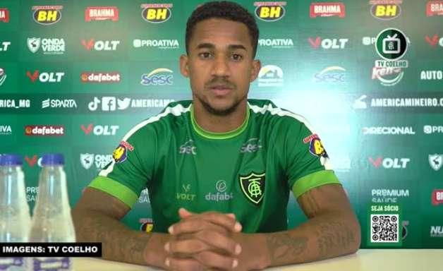 """AMÉRICA-MG: Eduardo aponta 'evolução nítida' da equipe no Brasileiro: """"As equipes se preocupam cada vez mais com o nosso ataque"""""""