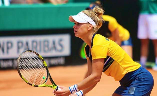 Brasileiras garantem vaga na chave de duplas de tênis