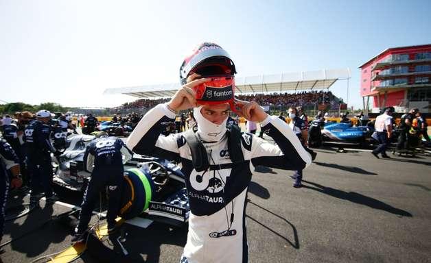 """Gasly agradece elogio de Marko e diz que futuro na F1 está """"nas mãos da Red Bull"""""""