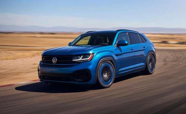 VW Atlas Cross Sport GT tem suspensão rebaixada e 300 cv