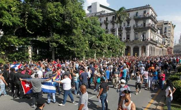 Chanceleres de EUA, Brasil e outros países condenam prisões em massa em Cuba