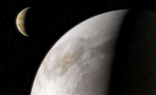 Descoberta 1ª evidência de vapor d'água em lua de Júpiter