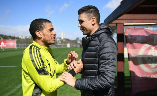 Com a presença de Bolivar, Inter dá sequência aos treinamentos para o Brasileiro
