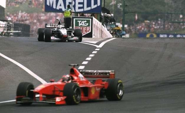 Hungria 1998: Schumacher vence com estratégia genial