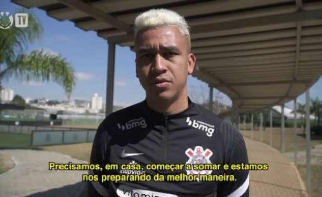 Cantillo quer Corinthians somando pontos em casa contra o Flamengo, mas avisa: 'Rival difícil'