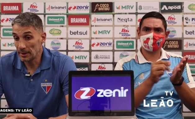 """FORTALEZA: Vojvoda evita pensar em jogo de volta contra o CRB, mas projeta: """"Será diferente, mas temos que tentar ou jogar melhor que o rival"""""""