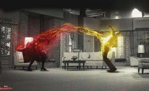 Entenda o significado das cores por trás de cenas importantes de WandaVision