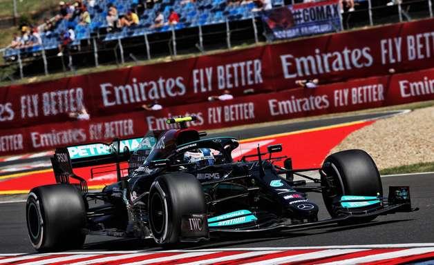 """""""É bom ter dois Mercedes na frente"""", diz Bottas após o P2 no grid do GP da Hungria de F1"""