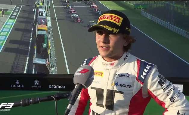 Nannini passa Fittipaldi e garante vitória na corrida 2 da Fórmula 3 na Hungria