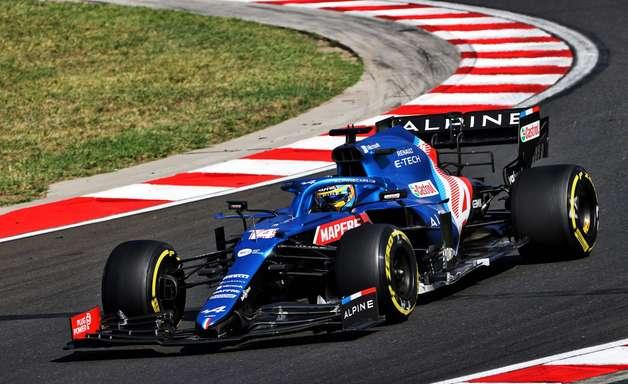 Alonso e Ocon comemoram bom desempenho da Alpine F1 na Hungria