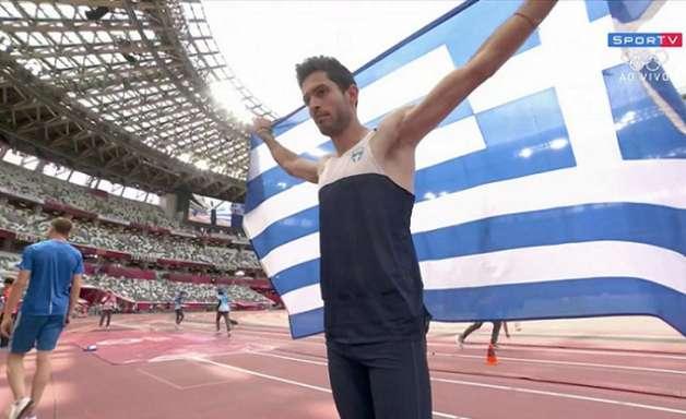Cubanos se lesionam, e grego leva ouro no salto em distância