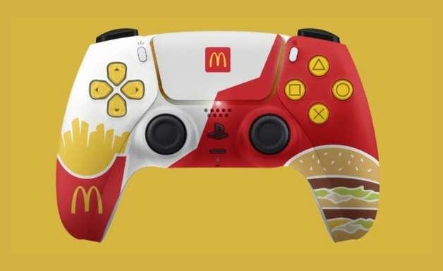 Sony afirma que controle de PS5 do McDonald's foi um erro