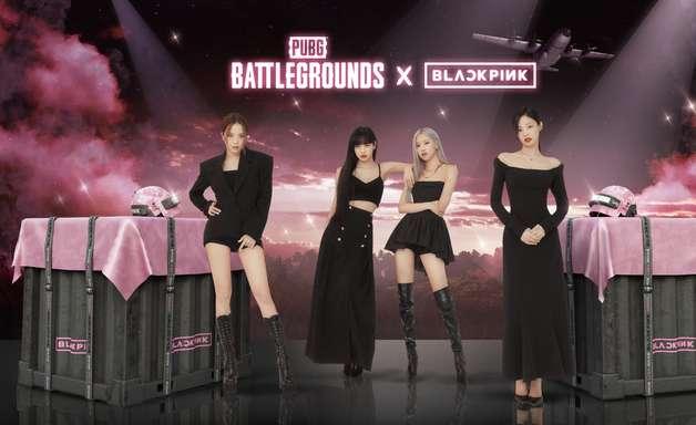 Grupo de K-Pop Blackpink chega ao PUBG em agosto